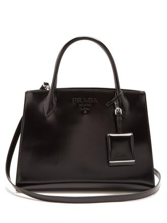 bag leather bag leather monochrome black