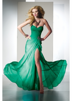 Kelly green strapless prom dress 35442 bdazzle