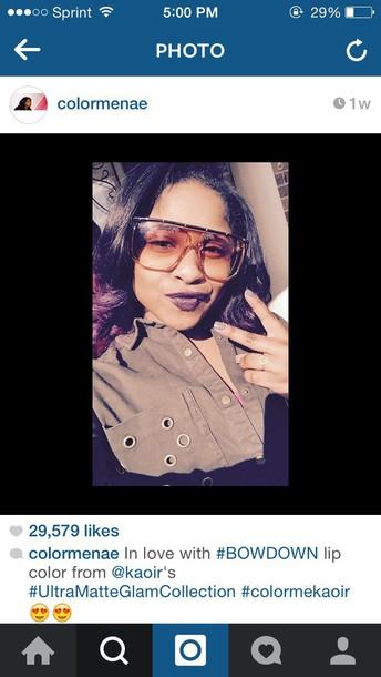 sunglasses reginae carter
