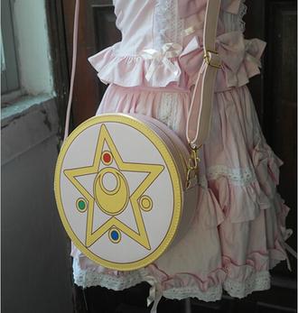 bag sailor moon handbag sailor moon bag kawaii cute