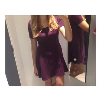 dress h&m dress h&m purple dress