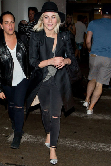 hat jeans fall outfits julianne hough
