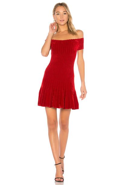 Ronny Kobo dress short red