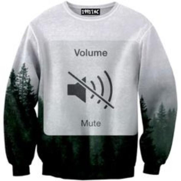 sweater jacket hoodie volume mute cute girly pretty