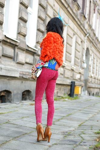 macademian girl jacket t-shirt pants shoes bag sunglasses jewels