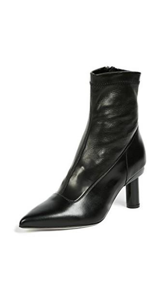 Tibi booties black shoes