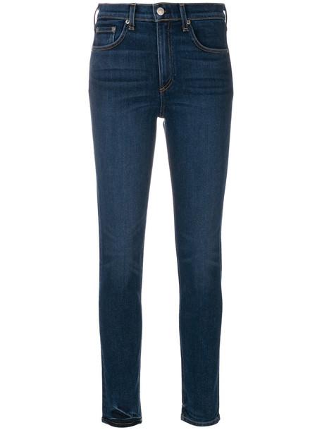 Rag & Bone jeans skinny jeans women cotton blue