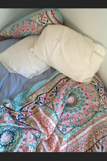 Jewels: blanket, quilt, duvet, boho, bohemian, bedding ...