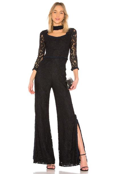 Alexis jumpsuit lace black