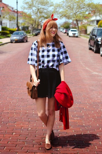 steffy's pros and cons blogger gingham satchel bag