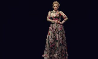 dress floral floral dress maxi dress long prom dress prom dress flowers adele