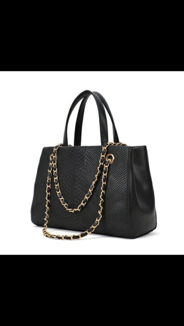 bag black gold