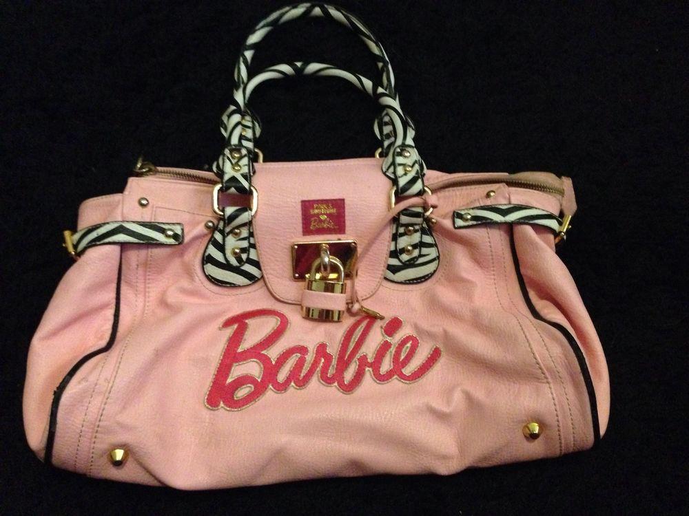 Pauls boutique pink barbie bag