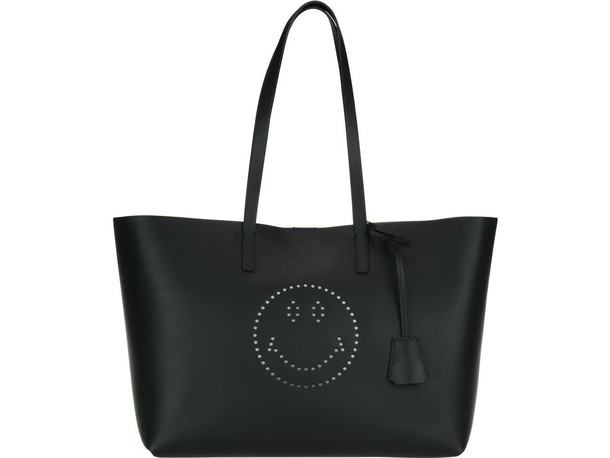 Anya Hindmarch smiley bag black