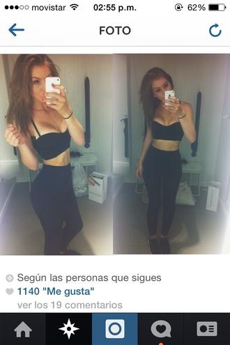 top black top leggings kim kardashian bottoms