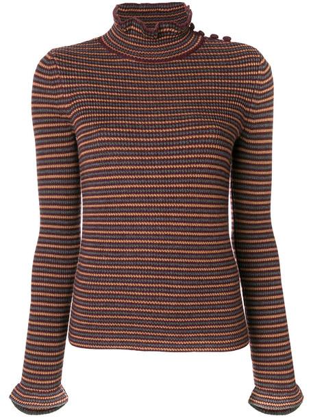 See by Chloe top women fit wool