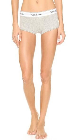 shorts cotton grey