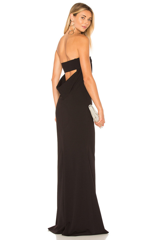 Katie May Mary Kate Gown in black