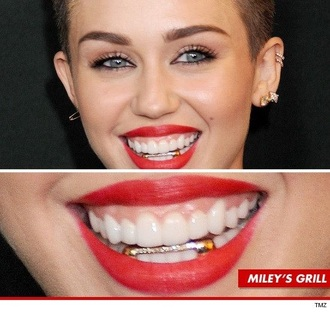 jewels gill teeth teeth grill milly bad smile grillz miley cyrus grilling
