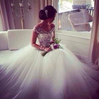 dress wedding dress wedding sparkly dress stylish bride lace dress no shoulders dreas prom dress diamonds designer white dress white