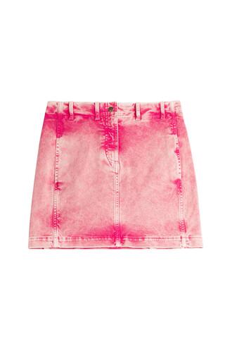 skirt jean skirt pink