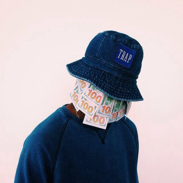 bucket hat trap c3e3a4fd453