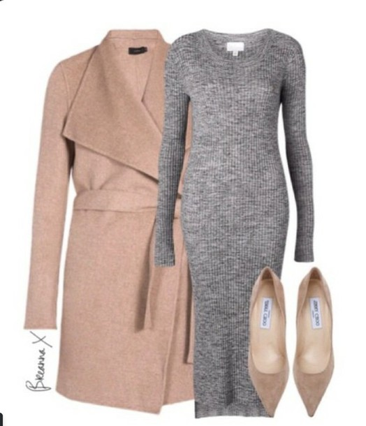 coat business casual dress