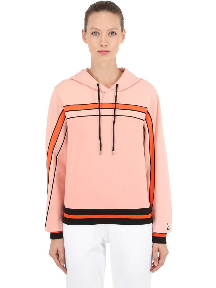 P.E NATION The Terrain Sweatshirt Hoodie in pink