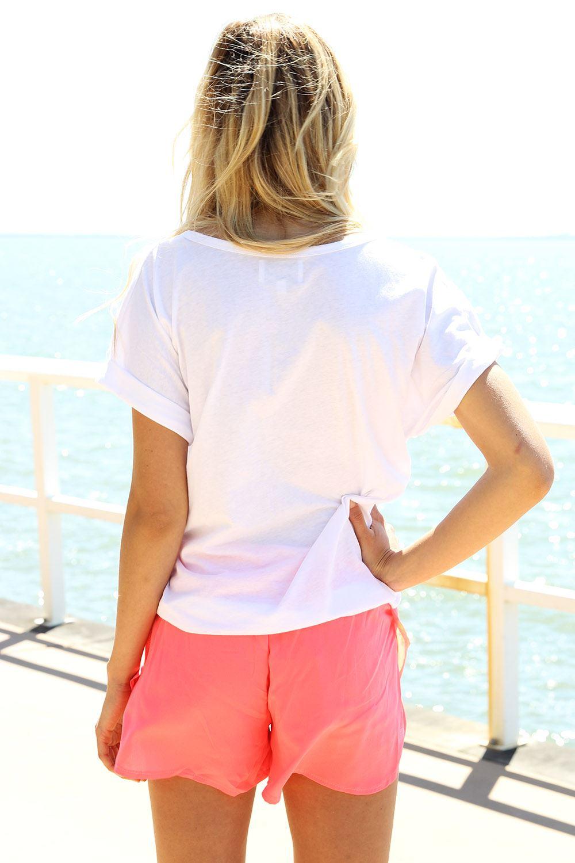 SABO SKIRT  Neon Beam Shorts - Neon - 38.0000