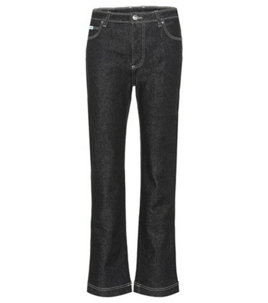 AlexaChung Mid-rise jeans in black