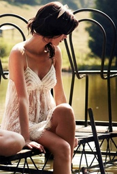 dress,lace,summer,straps,sheer,white,beautiful