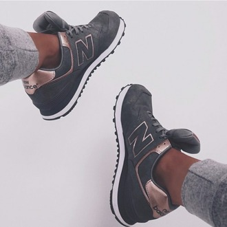 shoes new balance grey rose sneakers new balance running shoes running shoes running fitness hipster