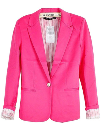 jacket brenda shop 36683 blazer pink office outfits elegant classy sexy trendy fall outfits spring brendashop