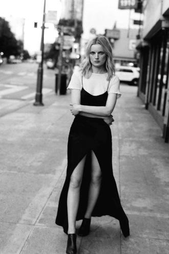 le fashion image blogger jewels t-shirt dress