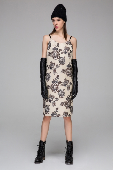 Brocade dress - FrontRowShop