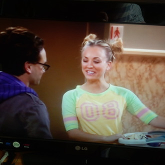 shirt big bang theory penny baseball shirt baseball tee yellow top