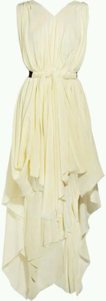 dress draped dress