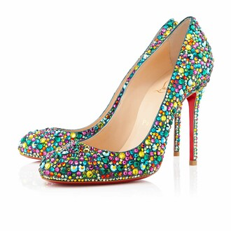 shoes louboutin women red bottom