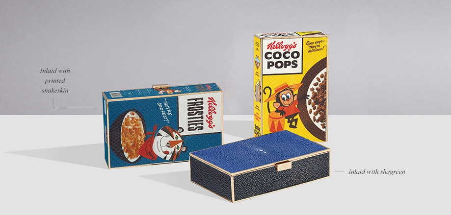 Coco pops imperial clutch