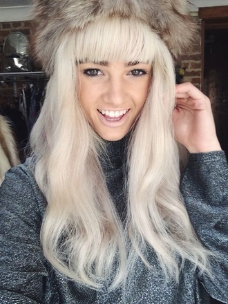fur vintage minx fur fox furvintage soft hat