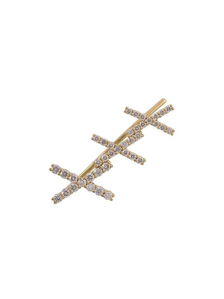 Alinka cuff women gold grey metallic jewels