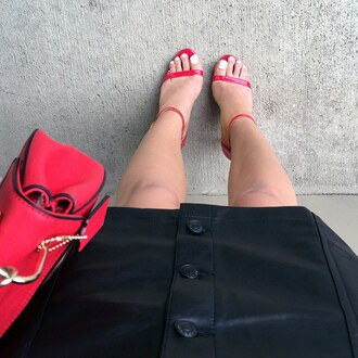 skirt faux faux leather vegan leather miniskirt mini leatheredgy style gojane