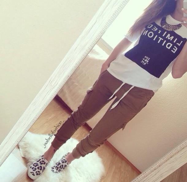 pants hat shoes