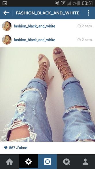 beige shoes style talons cute sandals