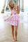 """Chic """"floral heritage"""" cutout skater dress (2 colors available) – glamzelle"""