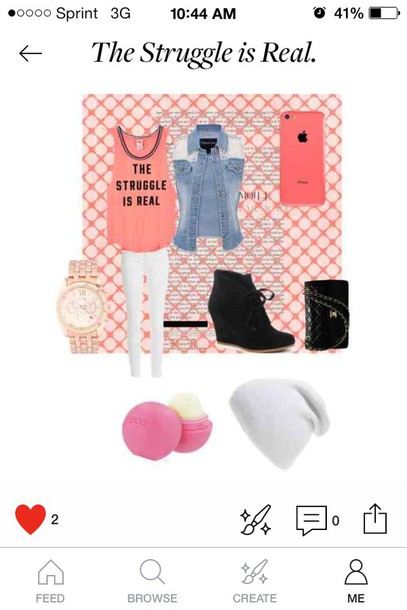 jacket t-shirt the struggle is real outfit dress