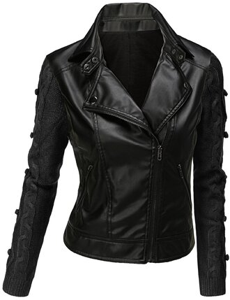 jacket leather jacket grease