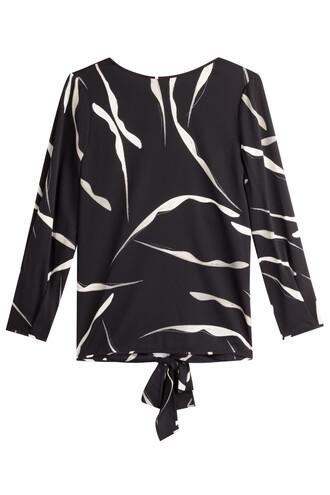 top back silk black