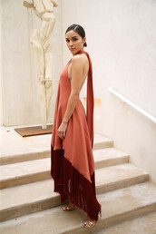 shoes,olivia culpo,blogger,sandal heels,asymmetrical dress,celebrity,dress