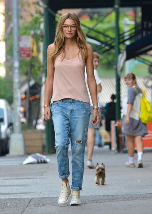 Ripped skinny jeans jay jays